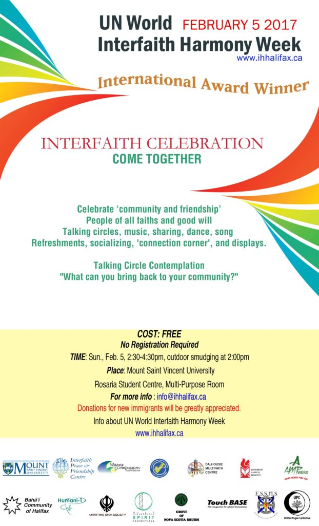 Interfaith Celebration 2017