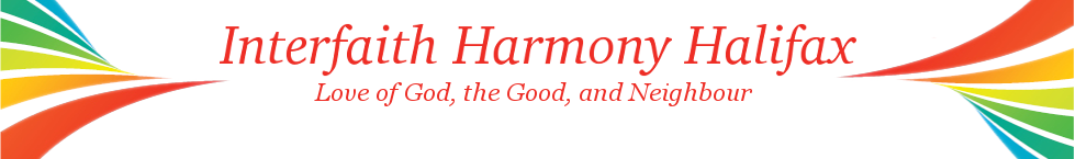 Calendar of Events - Interfaith Harmony Halifax