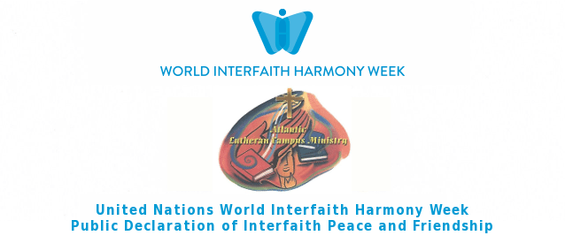 Atlantic Lutheran Campus Ministries Declares Interfaith Peace and Friendship