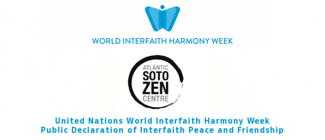 Atlantic Soto Zen Declares Interfaith Peace and Friendship