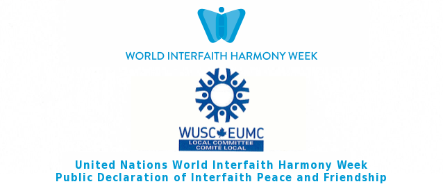 World University Services Canada Declares Interfaith Peace and Friendship