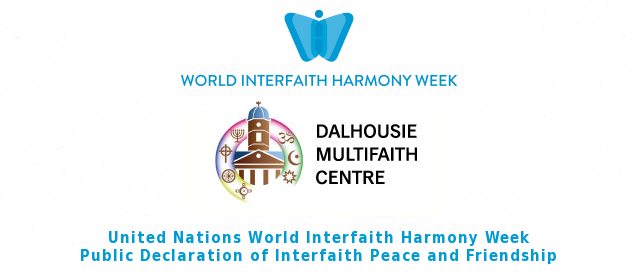 Dalhousie Multifaith Centre Declares Interfaith Peace and Friendship