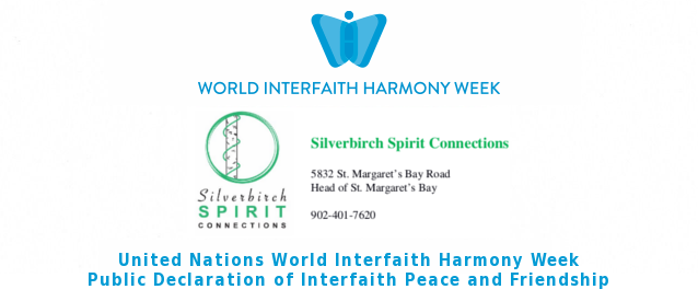 Silverbirch Spirit Connections Declares Interfaith Peace and Friendship