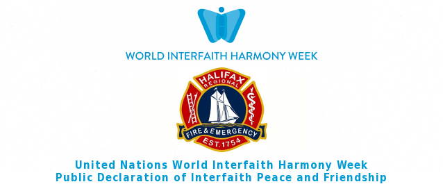 Halifax Regional Fire and Emergency Declares Interfaith Peace and Friendship
