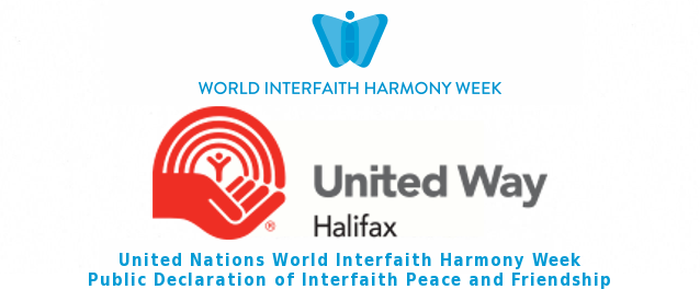 United Way Halifax Declares Interfaith Peace and Friendship