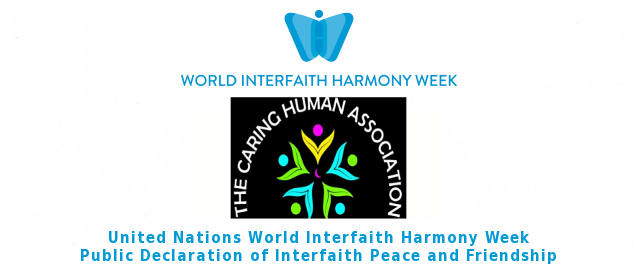The Caring Human Association Declares Interfaith Peace and Friendship