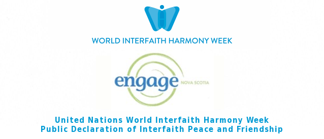 Engage Nova Scotia Declares Interfaith Peace and Friendship